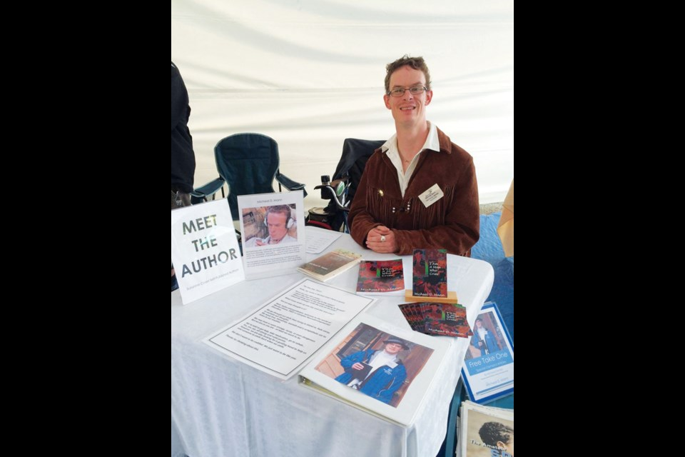 Micheal Oswald at a recent book signing.