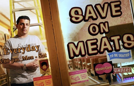The owner of Save On Meats, a well-known social enterprise business in the Downtown Eastside, is being sued by Vancouver Community College over a $300,000 contribution to a kitchen training project. Photo Dan Toulgoet