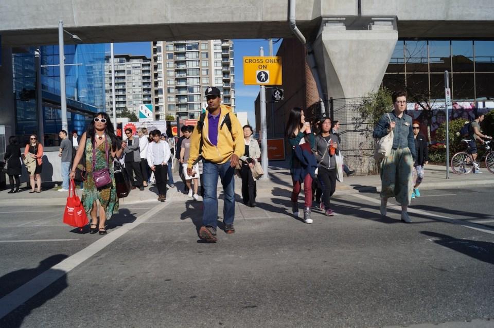 Canada Line walk
