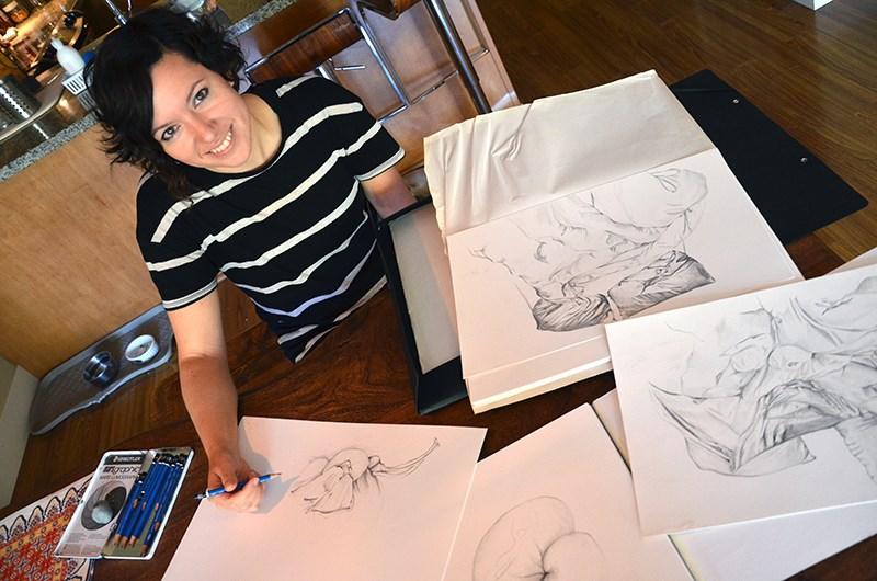 Squamish artist Laurel Terlesky