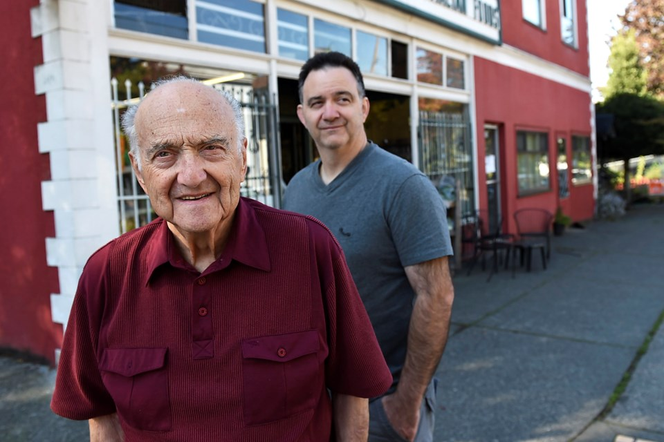 The Bendettis' long-running store, Benny's Market, has been a fixture in Strathcona for nearly 100 years, selling everything from European dry goods to T-shirts. photo Dan Toulgoet