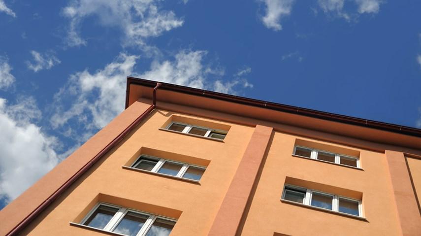 small apartment block