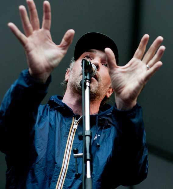 Buck 65 takes the stage at the 34th annual Vancouver Folk Music Festival Saturday