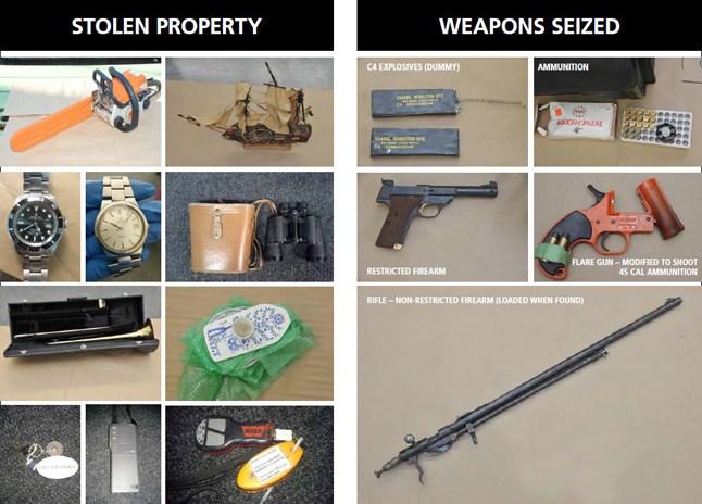 marine thefts