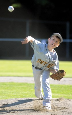 Seymour pitcher Stefan Biro pitched a great game and Mount Seymour won with 11 runs.
