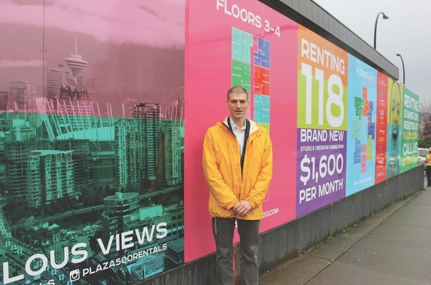 """UBC professor Tom Davidoff: """"It's very hard to think that anything other than outside capital flows are driving unaffordability right now."""" Photo Jen St. Denis"""