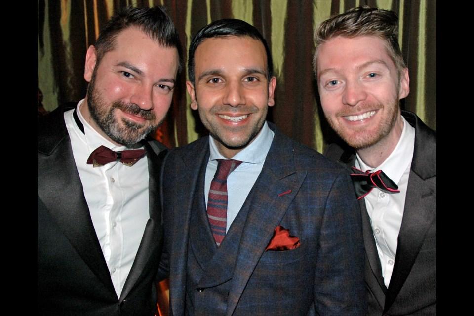 Style by Sarai CEO Jason Sarai was among the attendees at the inaugural $1-million Bollywood Ball produced by the Social Concierge's Tyson Villeneuve and Jordan Kallman.