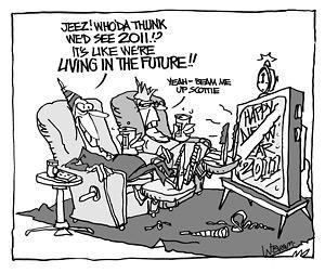 Editorial Cartoon: December 29, 2010