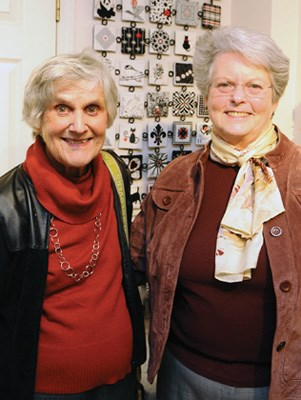 Marion Carruthers and Victoria Gemmell