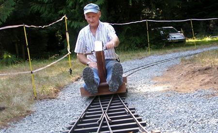 Miniature railway celebrates areas locomotive history