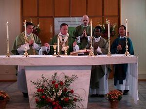 Catholic community celebrates anniversaries