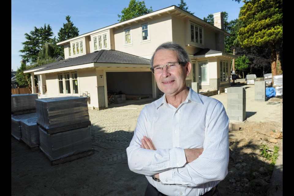 Geography professor David Ley has traced Metro's out-of-control housing prices to poltiical decisions made as long ago as Expo 86, in a new peer-reviewed study. Photo by Jason Payne/Vancouver Sun