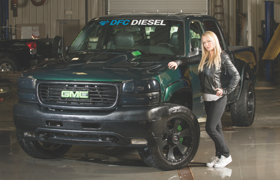 Girl with diesel dreams