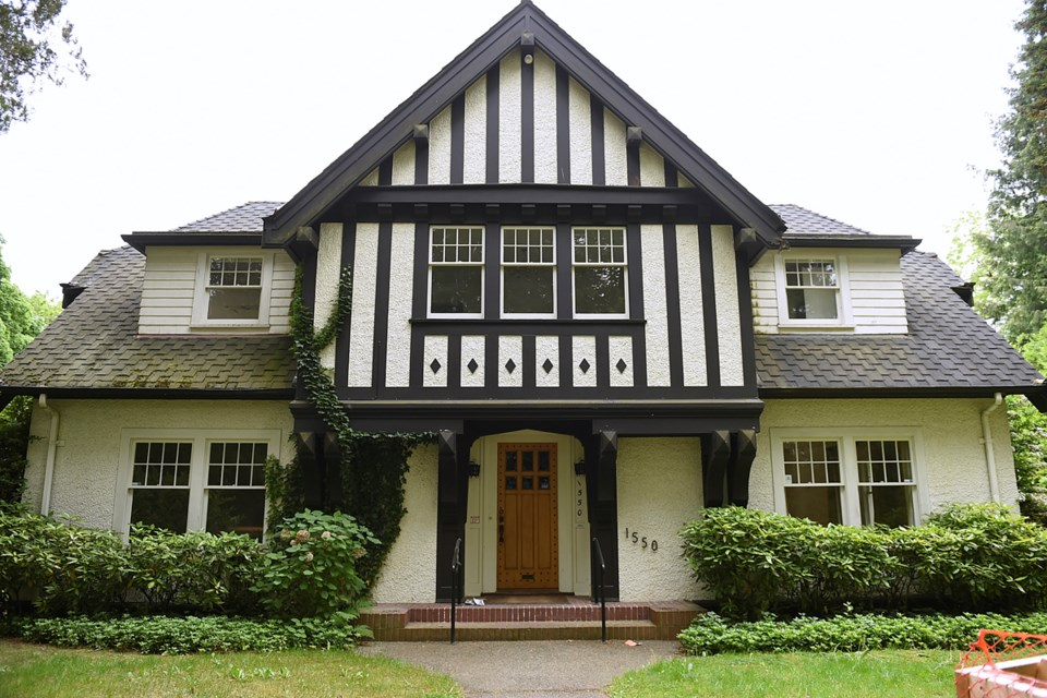 The City of Vancouver has ordered a heritage inspection of this home at 1550 West 29th to determine its heritage value. Photo Dan Toulgoet