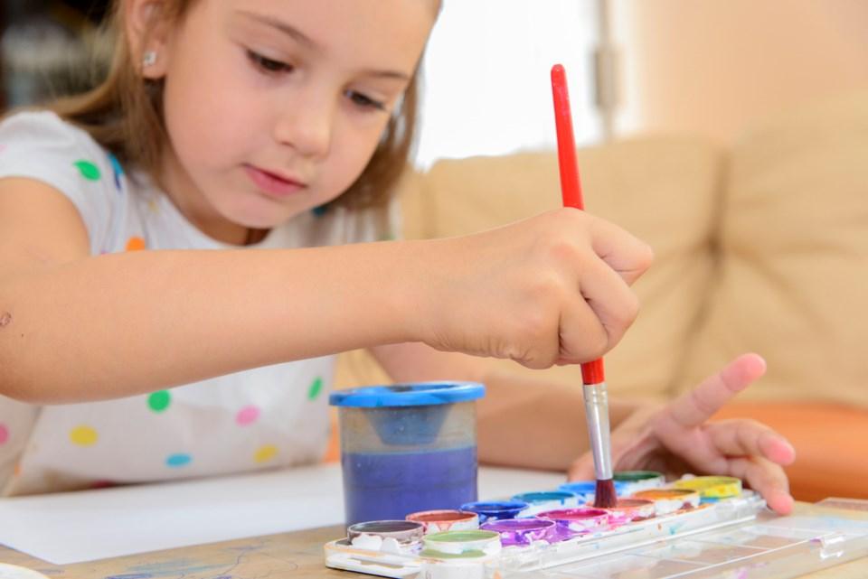 thinkstock, kids' art