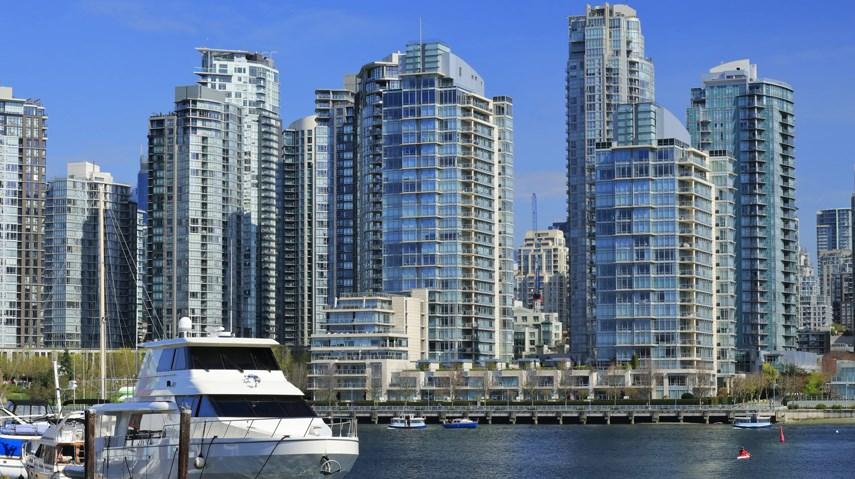 Yaletown False Creek high-rise condo towers Vancouver