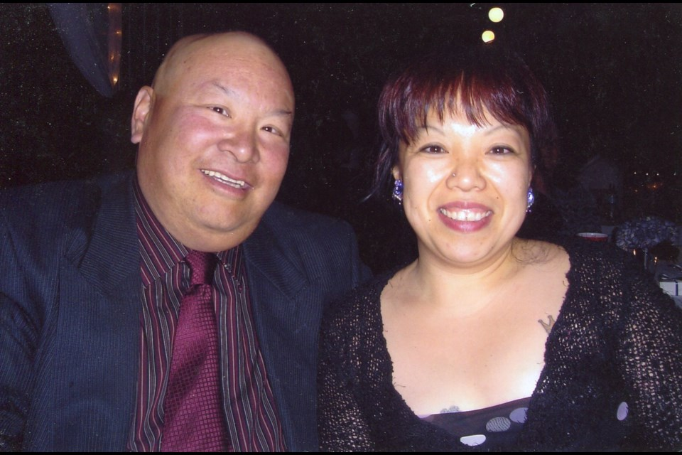Cynda Yeasting and Michael Chu made the most of their 19-month relationship before he passed away from lung cancer in 2008. Photo submitted
