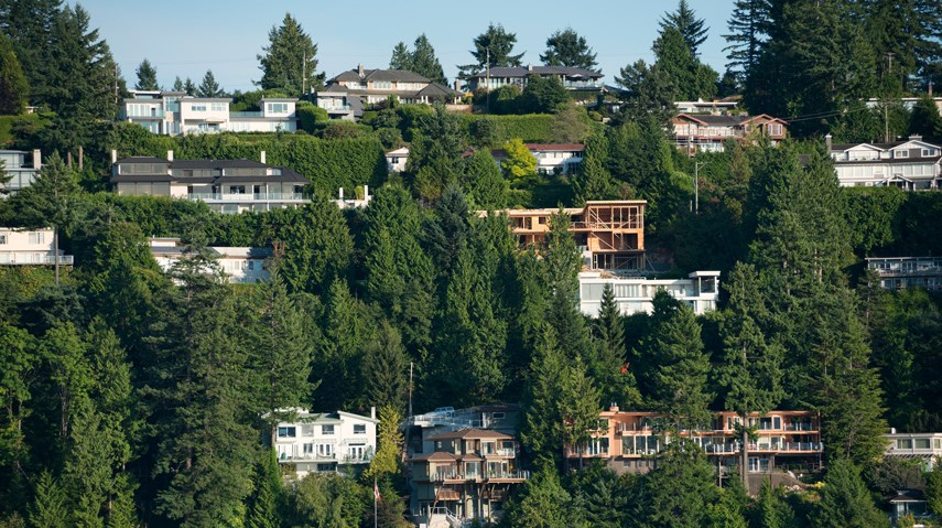 West Vancouver houses