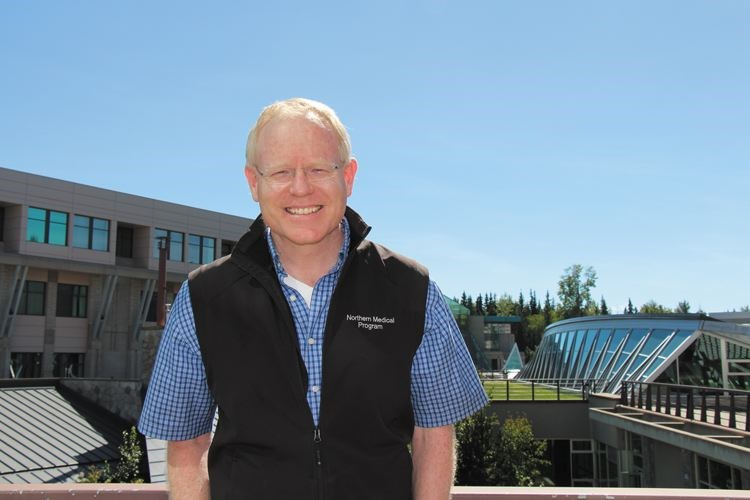 UNBC researcher Dr. Russ Callaghan is seen in an undated handout photo.