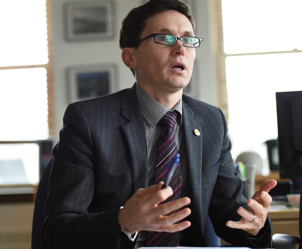 City manager Sadhu Johnston