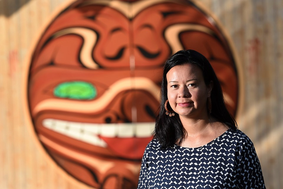 Ginger Gosnell-Myers, Vancouver's first-ever manager of Aboriginal relations, is a key part of a new relationship between the city and First Nations. Photo Dan Toulgoet