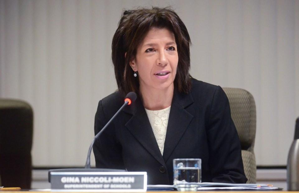 Burnaby school district superintendent Gina Niccoli-Moen