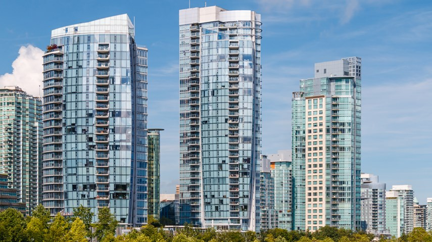 Vancouver Yaletown condo towers