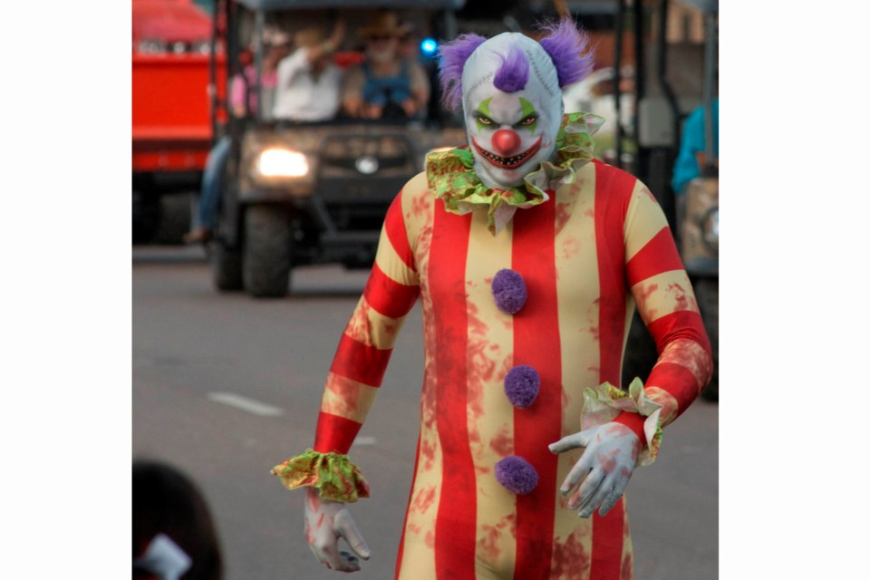 Reports of creepy clowns first started popping up in the U.S. in August.