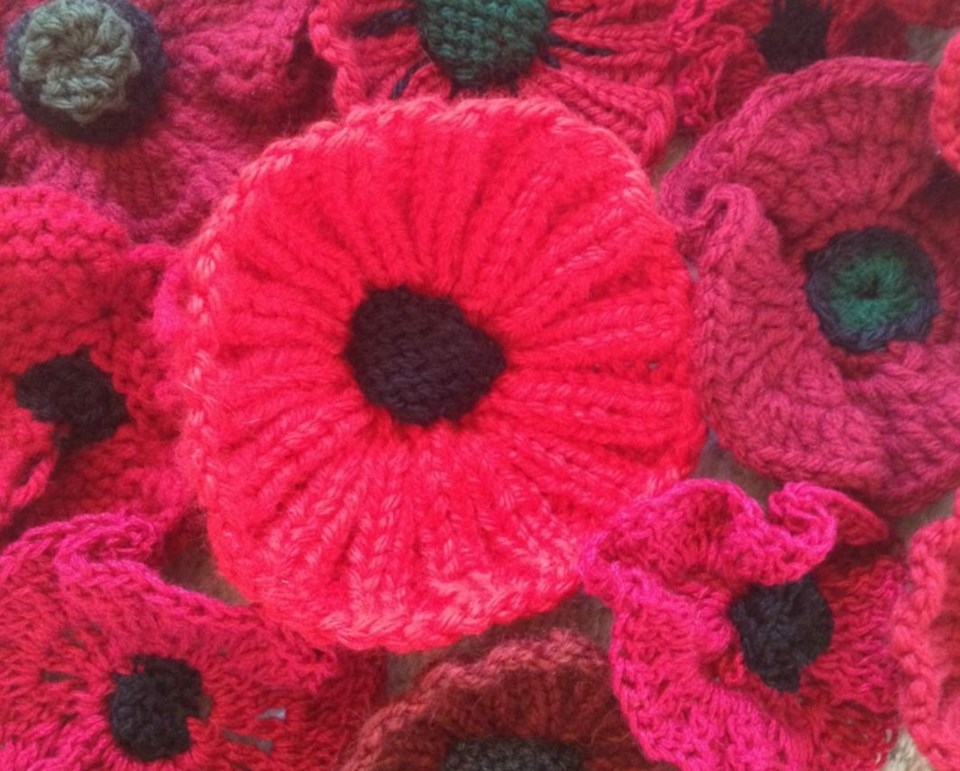 New West knit Remembrance Day
