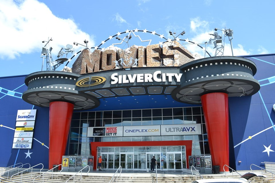 silvercity cineplex movie theatre