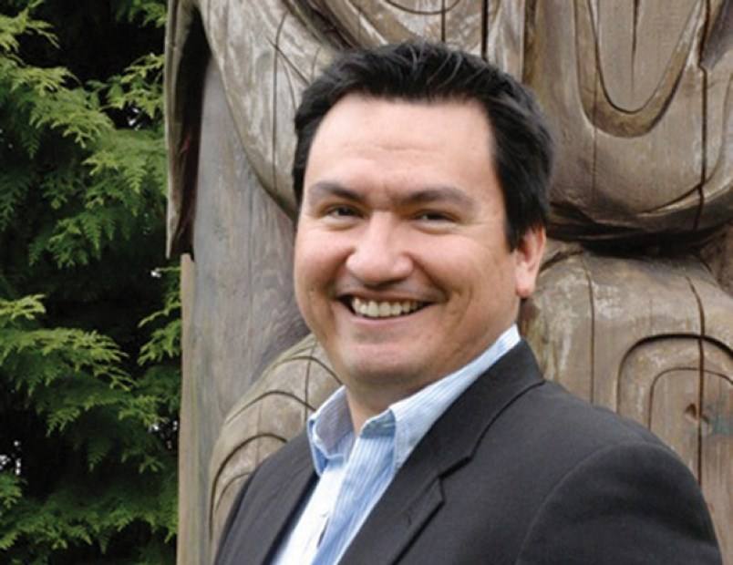 Squamish Nation Chief Ian Campbell.