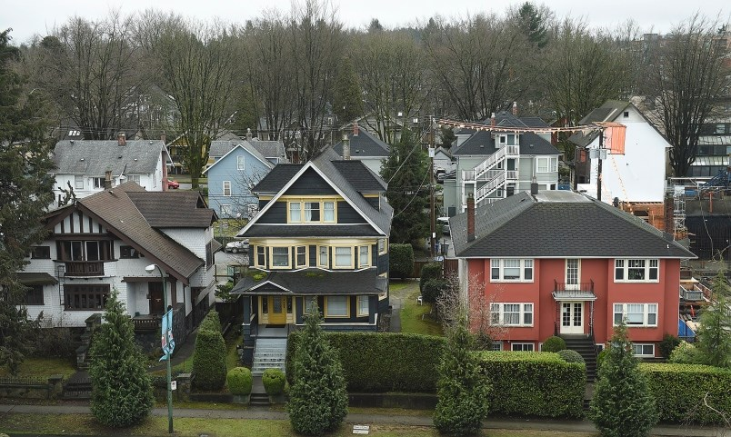 The city estimates there are 20,000 homes that are either left empty year-round or under-occupied in Vancouver. A proposed one per cent tax is aimed at pressuring owners to rent out their vacant homes. Photo Dan Toulgoet