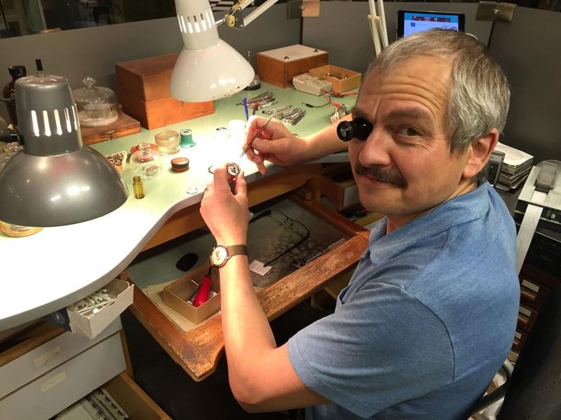 1117 Van Shakedown German Watchmaker Norbert Zerbes