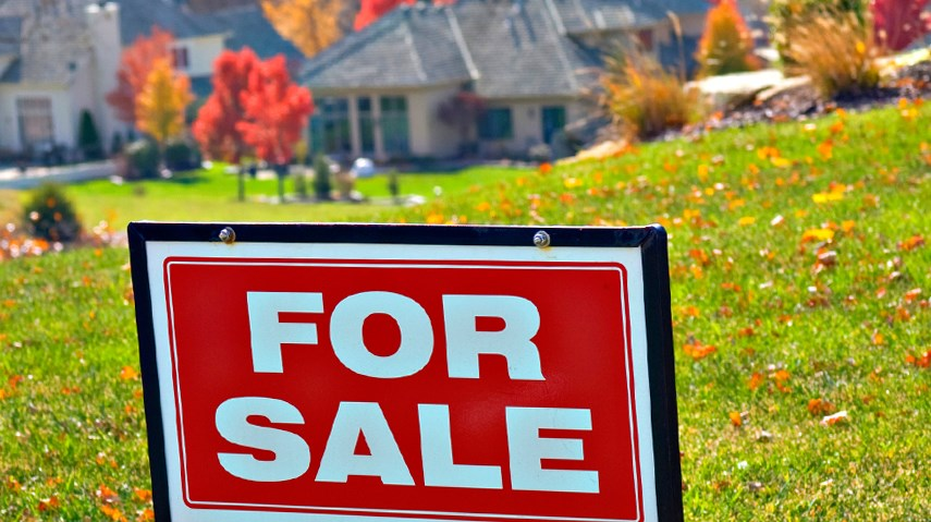 Home property for sale in fall