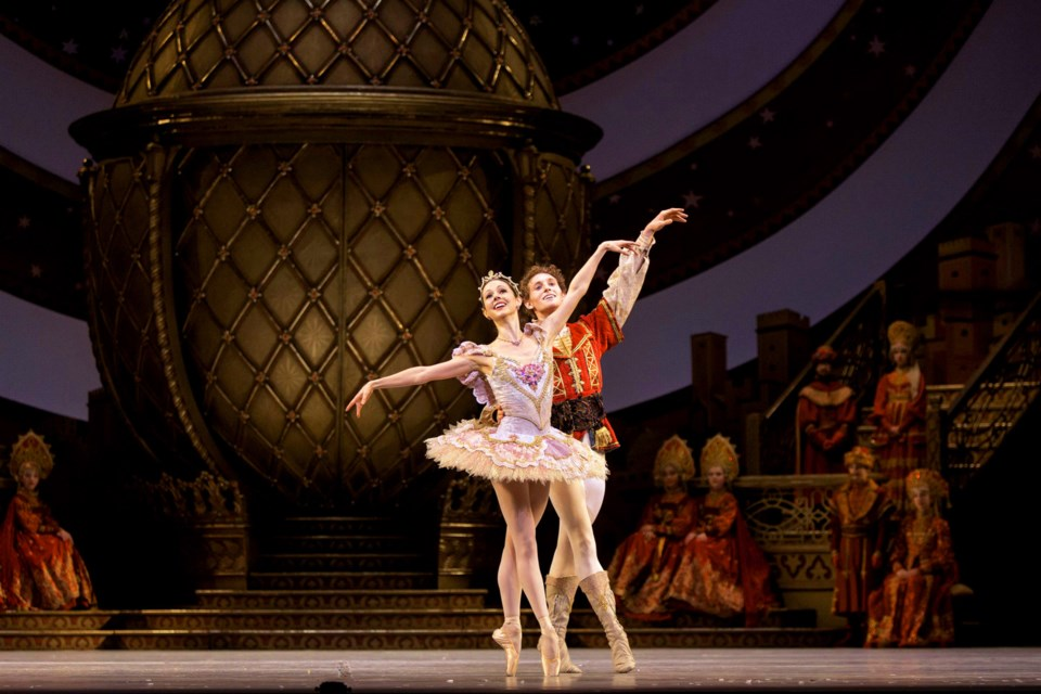 National Ballet of Canada dancers Jillian Vanstone and Skylar Campbell will join the Richmond Academy of Dance onstage for their annual holiday concert with the New Westminster Symphony Orchestra.