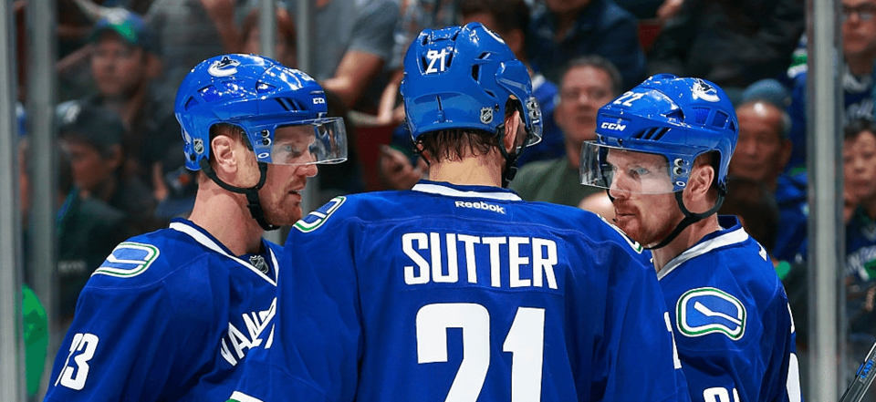 Sutter and the Sedins
