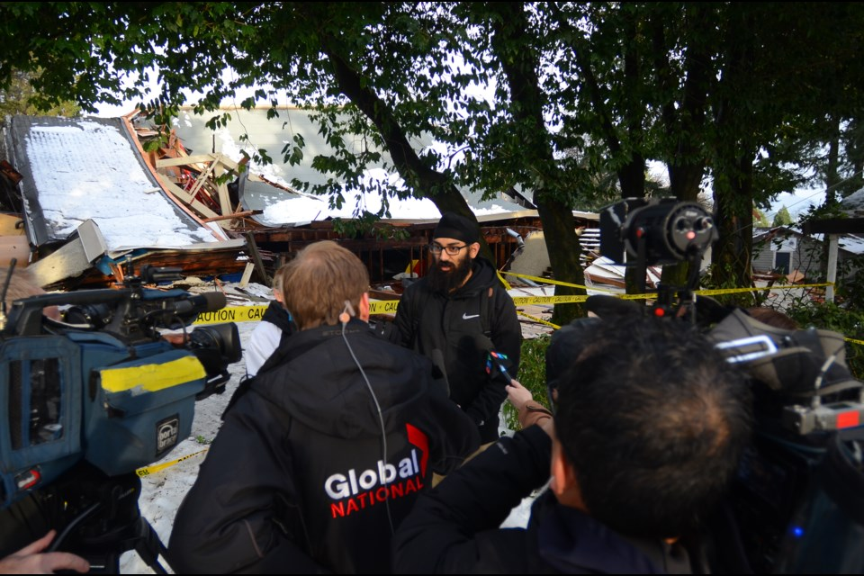 Many community members visited Queen's Park on Tuesday to see the aftermath of the Arenex collapse for themselves.