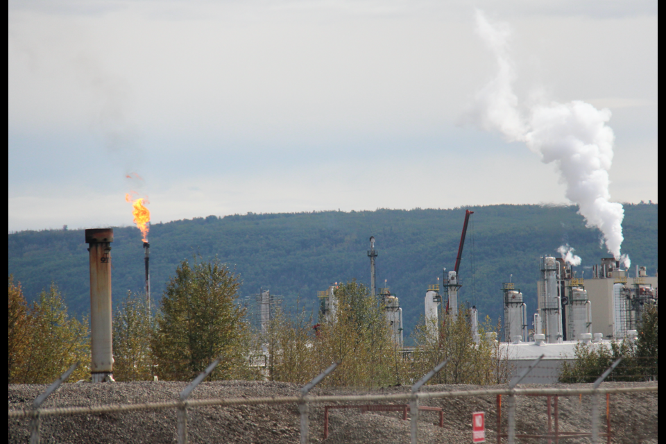 The McMahon gas plant in Taylor, B.C. A new report on U.S. Energy trends has some worried about the future of Canadian natural gas.