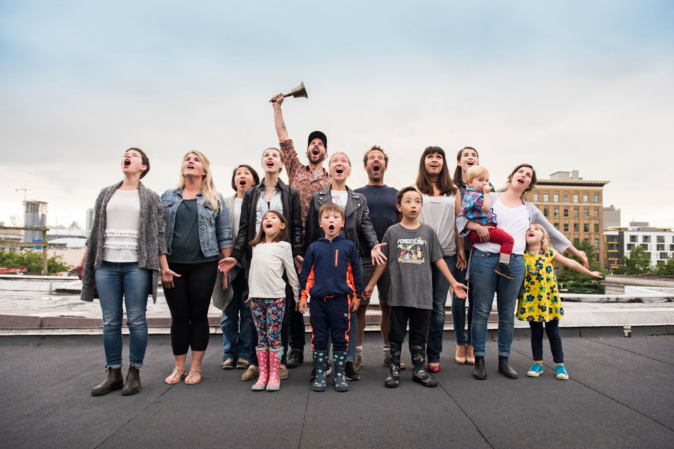 Theatre Replacement's Town Choir, an all-ages show, goes down Jan. 29, 12 p.m.
