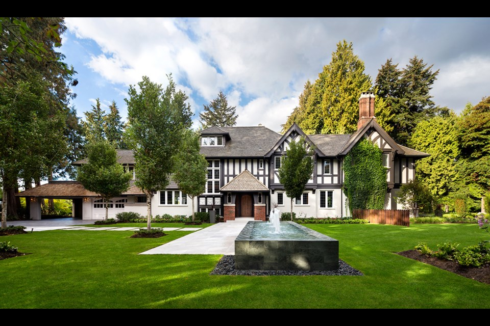 The Gables is in Southlands, part of Vancouver and yet far from the madding crowd.