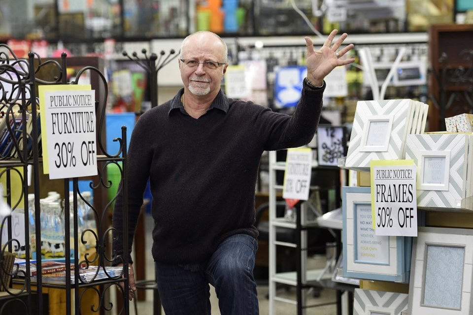 After 18 years in business, Wonderbucks owner Bernie Moschenross will close his Commercial Drive store at the end of the month. Photo Dan Toulgoet