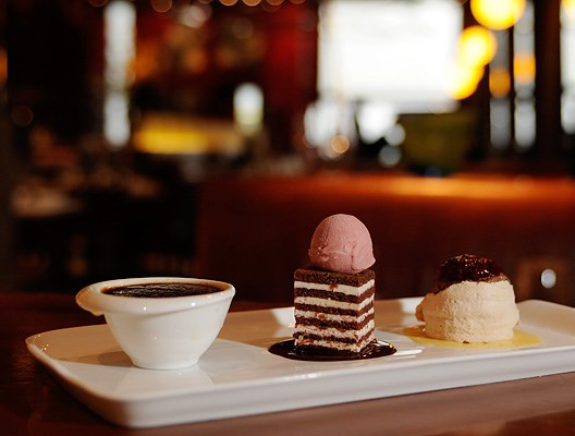Pastry chef Rhonda Viani has been making mouth-watering creations at West restaurant since 2003.