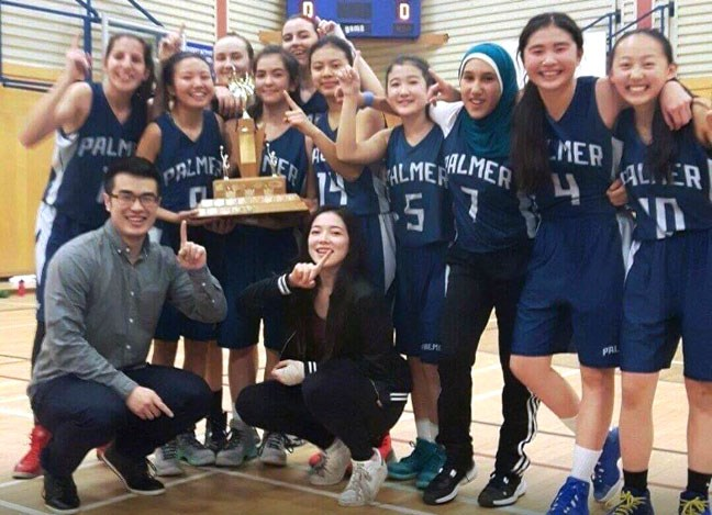 The RC Palmer Griffins earned their school's first city girls basketball championship in 14 years after edging McRoberts in the Juvenile title game.
