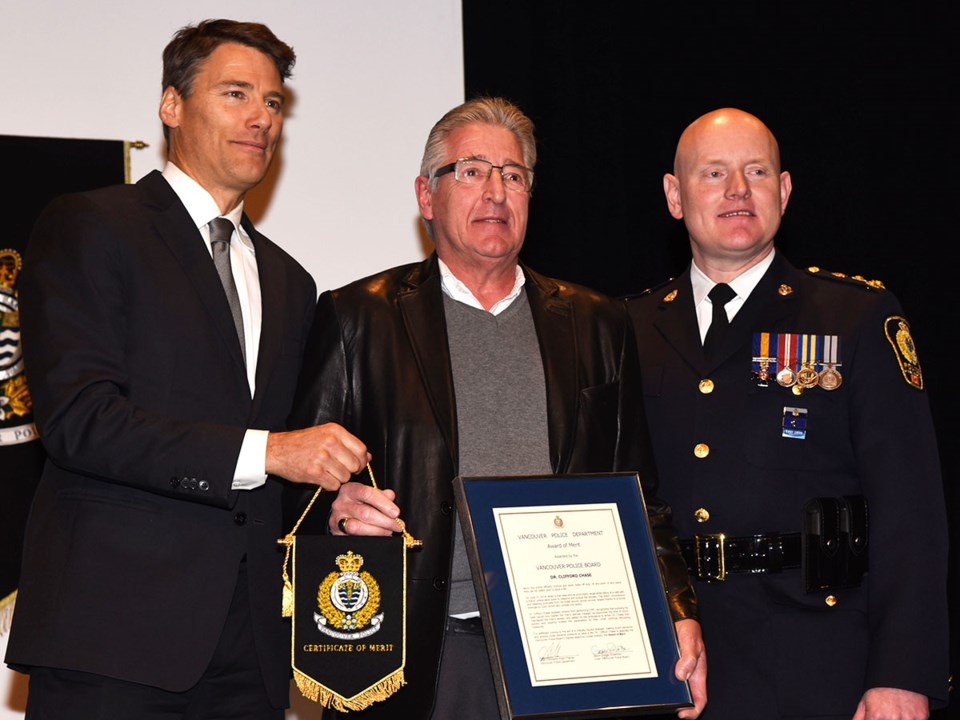 VPD Dr. Clifford Chase