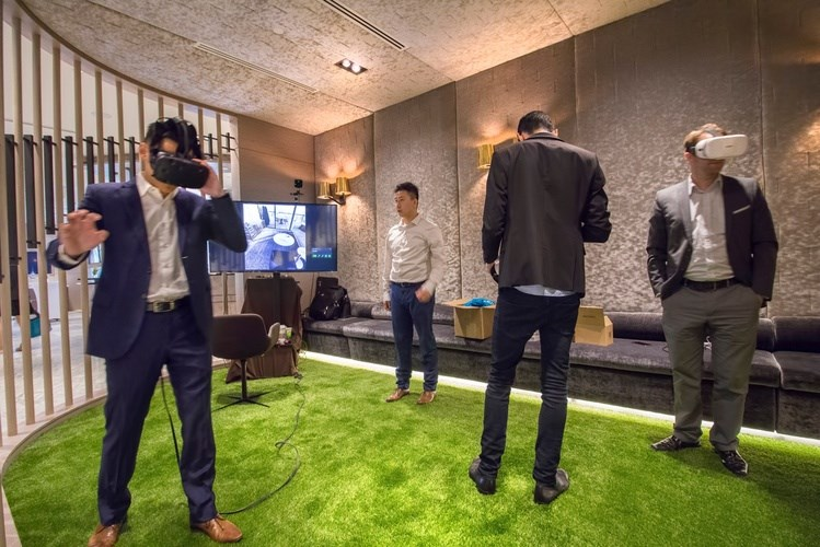 Concord Pacific's Brentwood project used virtual reality to showcase its condos before any were buil