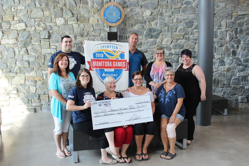 100 Women Who Care cheque presentation (July 2017)