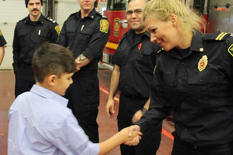 Thompson firefighter/paramedic Ashling Sweeny was one of five new appointments to the Manitoba Polic