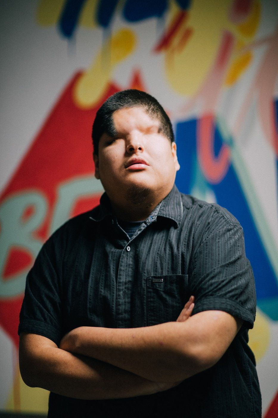 Indigenous music producer and recording artist Matthew Monias, also known as Mattmac.