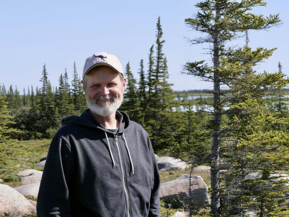 Jim Roth studies Arctic foxes and foodwebs in the Churchill region.