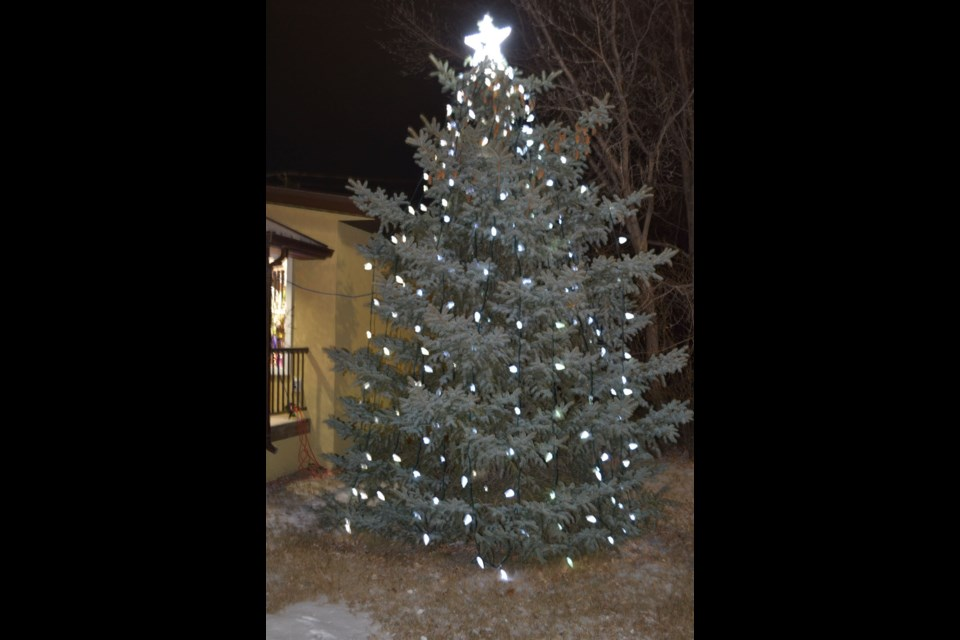 Nov. 19, the Memory Tree in the heart of Downtown Virden springs to life with lights commemorating lost loved ones.